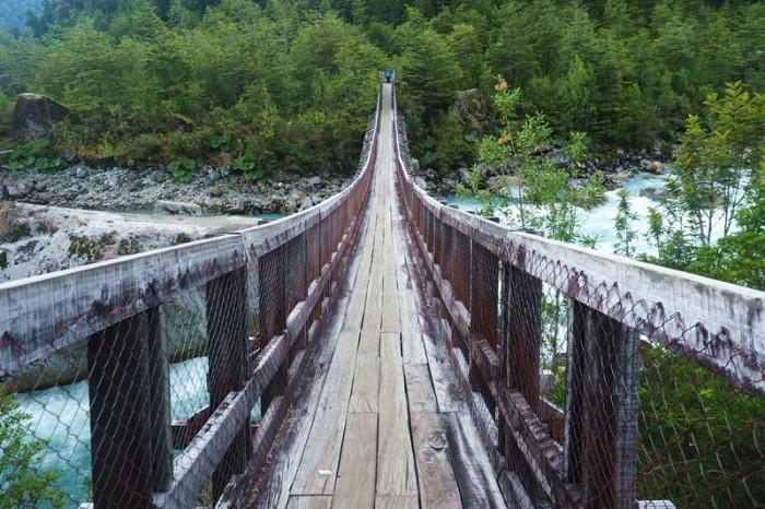 Chile - Hiking to the glacier at Parque Nacional Queulat