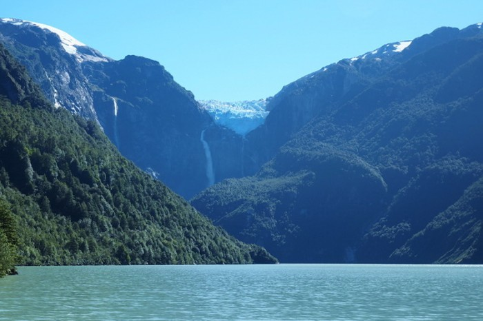 Chile - The glacier at Parque Nacional Queulat