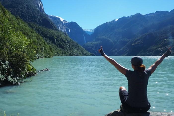 Chile - The glacier at Parque Nacional Queulat