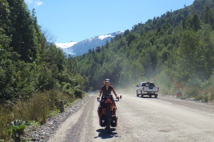 Chile - Tough going on the Carreterra Austral