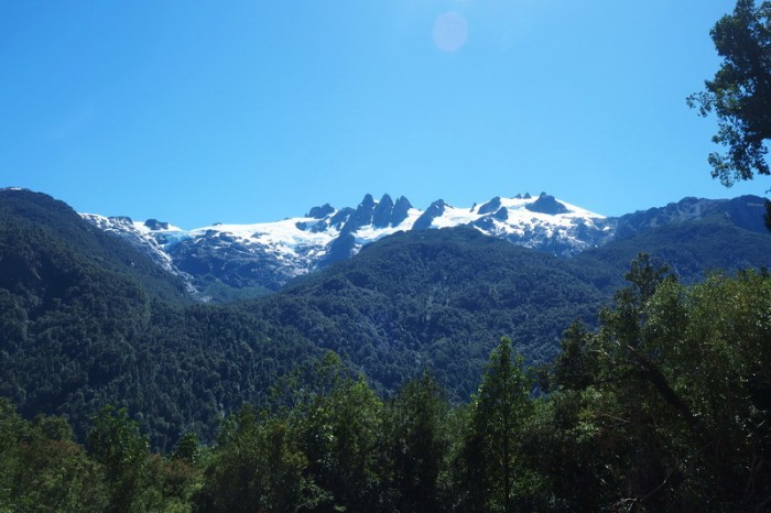 Chile - Mountain views along the Carreterra Austral