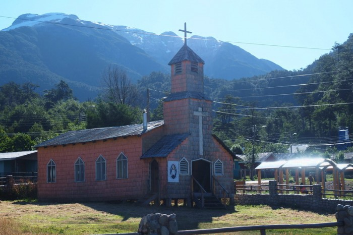 Chile - Church at Villa Amengual