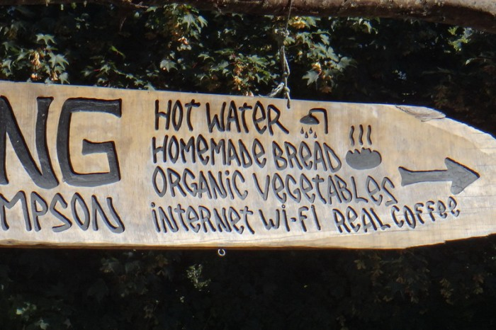 Chile - The lure of Homemade bread and wifi!