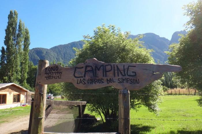 Chile - Camping Las Torres del Simpson