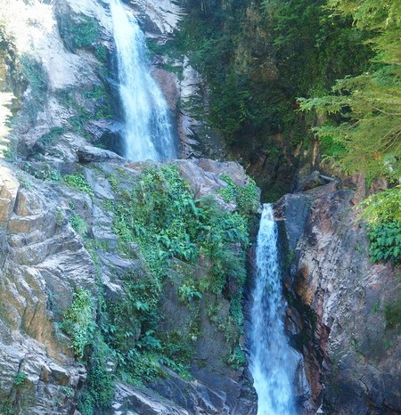 Chile - Waterfall on the way to Coyhaique