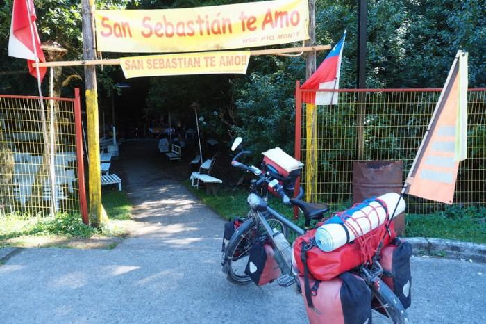 Chile - Shrine to San Sebastian on the way to Coyhaique