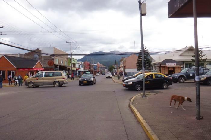 Chile - The little town of Coyhaique