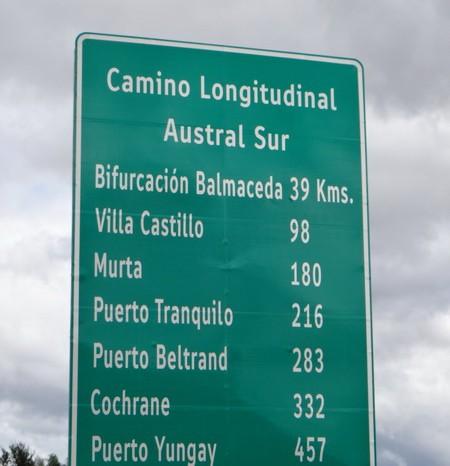 Chile - 98km to Villa Cerro Castillo