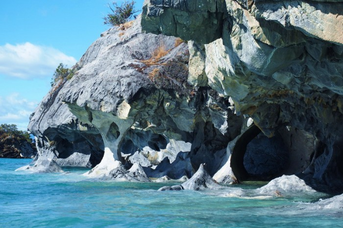 Chile - Marble caves near Puerto Rio Tranquilo