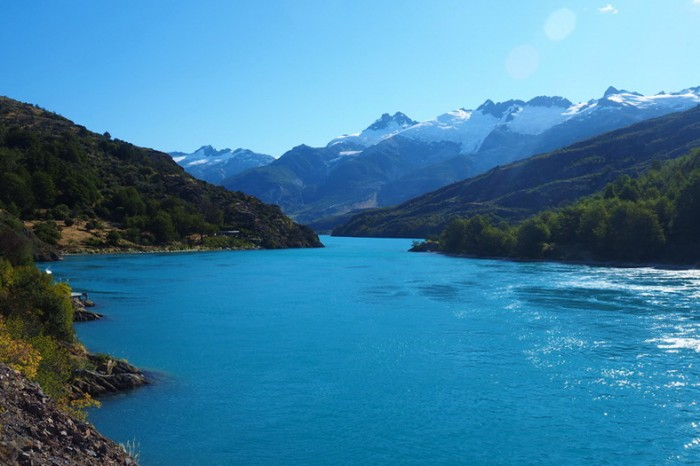 Chile - Views on the way to Cochrane