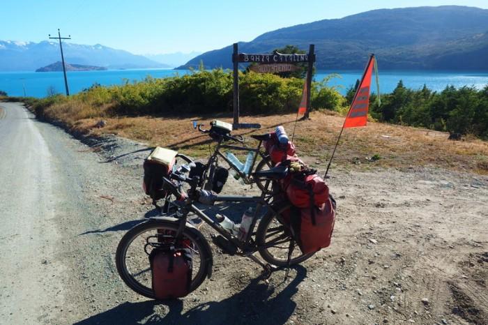 Chile - Ready to leave Bahia Catalina