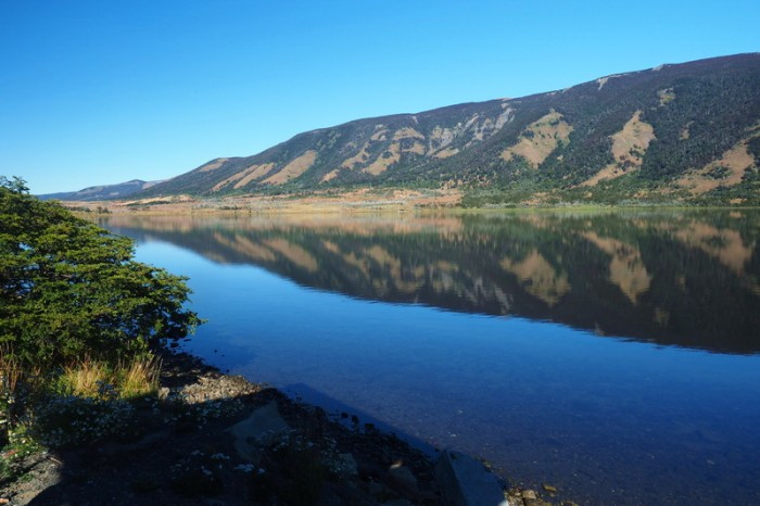 Chile - Views on our way to Puerto Natales