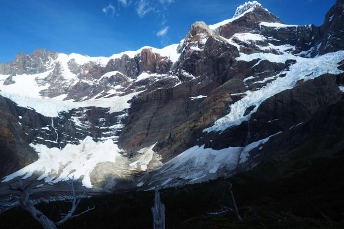 Chile - Day 3:  Hiking the Q Loop - Torres del Paine - Frances Glacier