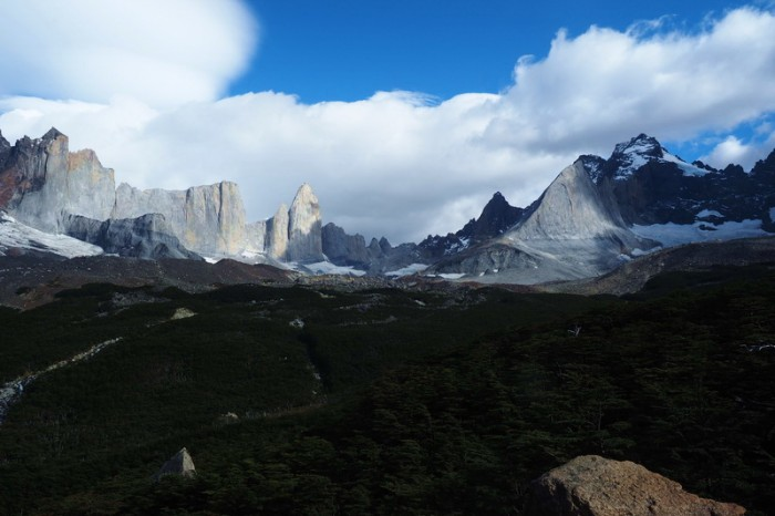 Chile - Day 3:  Hiking the Q Loop - Torres del Paine - View from the Britanico Lookout