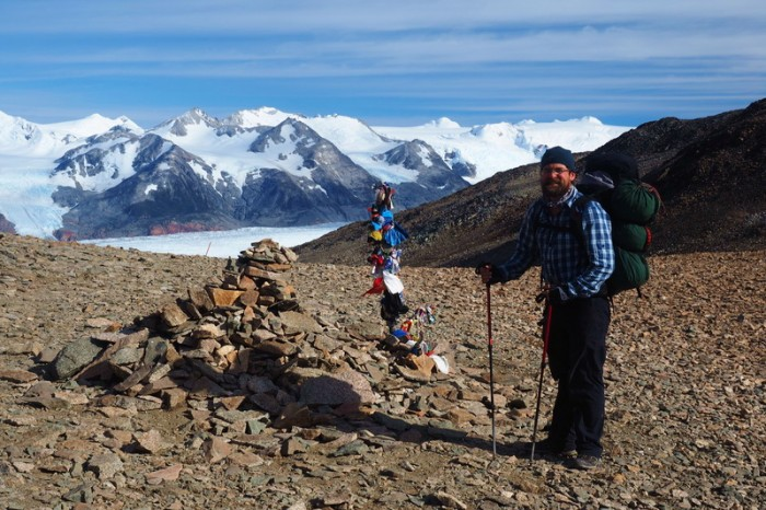 Chile - Day 7: Hiking the Q Loop - Torres del Paine - We made it to the top of the Pass!!!