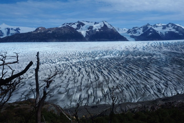 Chile - Day 7: Hiking the Q Loop - Torres del Paine - Stunning Glacier Grey