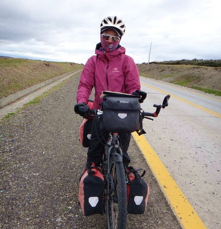 Chile - Cold and windy on our way to Punta Arenas