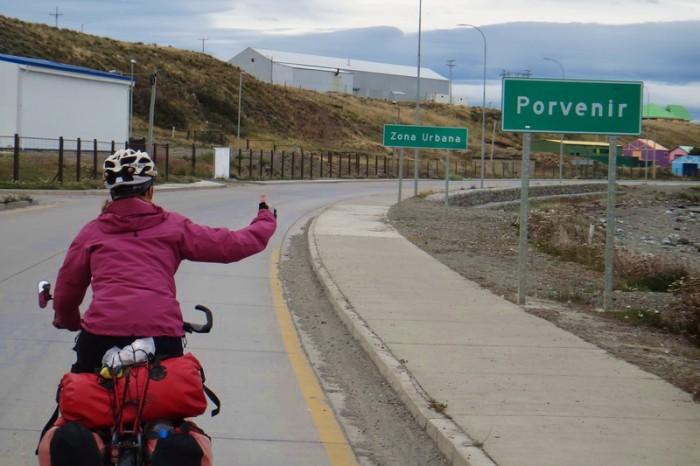 Chile - Yeah - we made it to Porvenir!