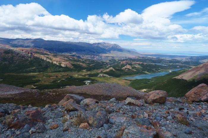 Argentina - View from Laguna del Los Tres,  near El Chaltén!