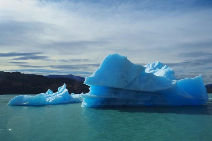 Argentina - Icebergs near Upsala Glacier — at Parque Nacional Los Glaciares.