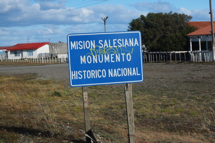Argentina  - We passed the Mision Salesiana