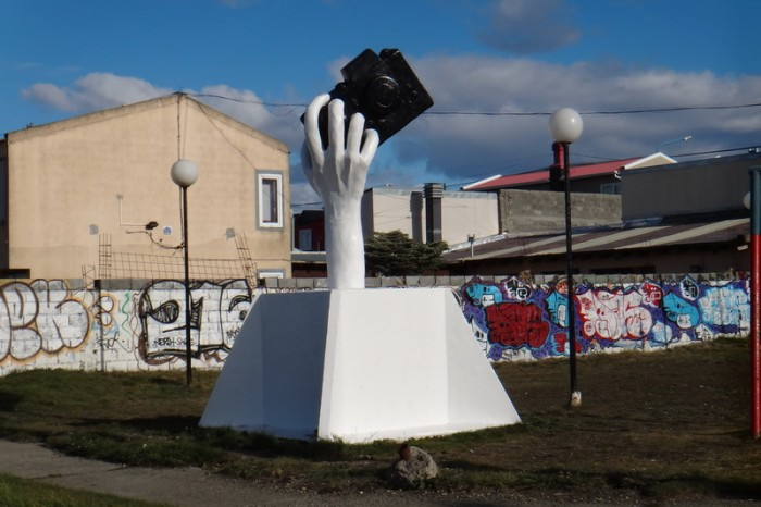 Argentina  - We passed this rather odd statue on the way to Rio Grande!