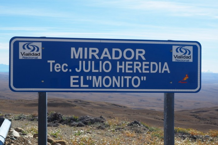 Argentina - The El Monito lookout